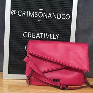 Joe's Jeans Zariah Dual-Zip crossbody bag pink